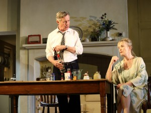 Alex Jennings and Lindsay Duncan in Hansard. Photo: Catherine Ashmore