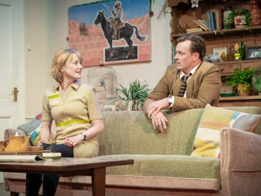 Claire Skinner and Toby Stephens in A Day in the Death of Joe Egg. Photo: Marc Brenner