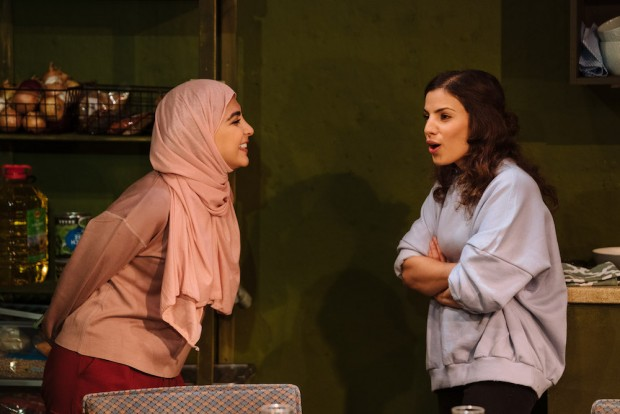 Oznur Cifci and Nalan Burgess in Out of Sorts. Photo: Helen Murray