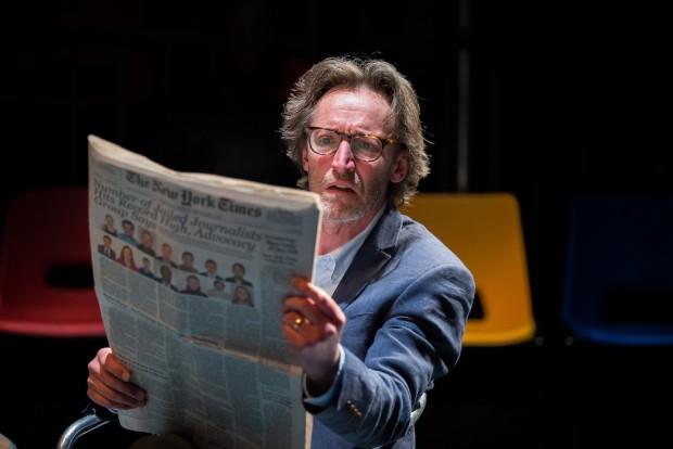 Peter Hamilton Dyer in #WeAreArrested. Photo: Ellie Merridale