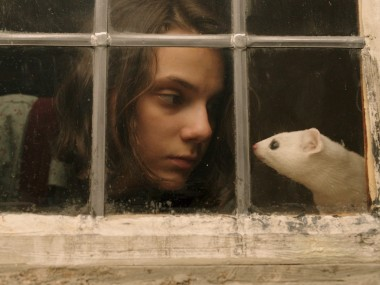 Dafne Keen as Lyra Belacqua in His Dark Materials. Photo: BBC