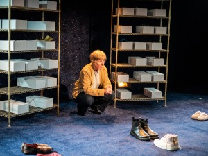 Julie Hesmondhalgh in The Greatest Play in the History of the World. Photo: Savannah Photographic