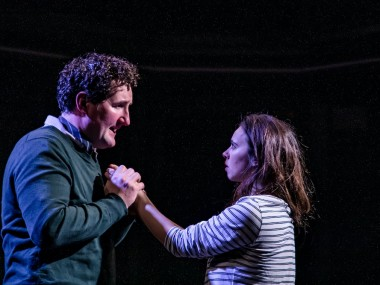 John Hollingworth and Jessica Rhodes in The Sugar Syndrome. Photo: The Other Richard