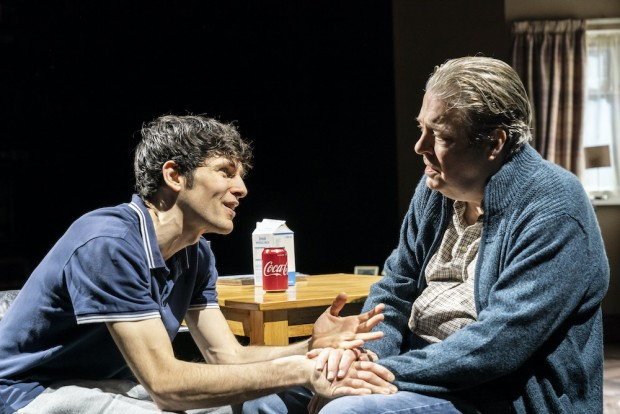 Colin Morgan and Roger Allam in A Number. Photo: Johan Persson