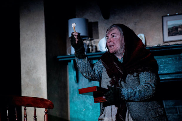 Gwen Taylor in The Croft. Photo: Charlotte Graham