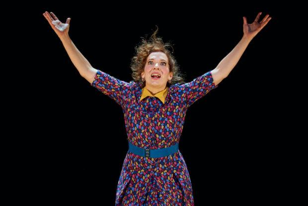 Katherine Parkinson in Shoe Lady. Photo: Manuel Harlan