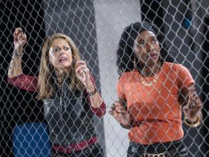 Miranda Foster and Yvette Boakye in The Special Relationship. Photo: Tristram Kenton
