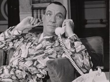 Playwright Noël Coward