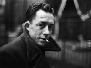 Writer Albert Camus