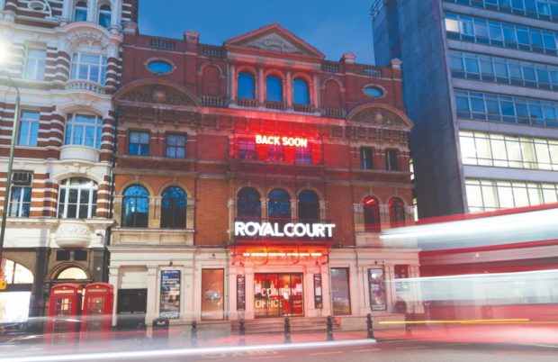 The Royal Court Theatre 2020. Photo: Robert Smael