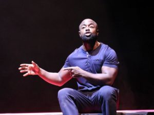 Michael Balogun in Death of England: Delroy. Photo: Normski