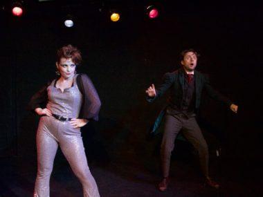 Freya Sharp and Ryan Hutton in December. Photo: Zoe Grain