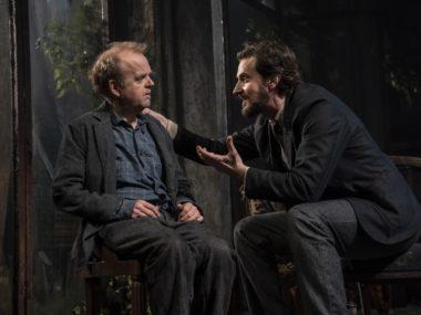Toby Jones and Richard Armitage in Uncle Vanya. Photo: Johan Persson