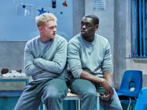 Josef Davies and Ivan Oyik in Shook. Photo: The Other Richard