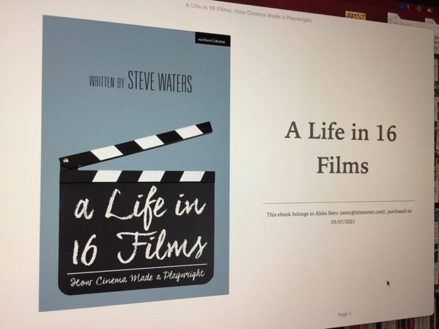 A Life in 16 Films published by Methuen Drama
