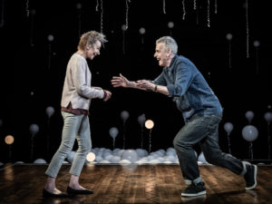 Zoë Wanamaker and Peter Capaldi in Constellations. Photo: Marc Brenner